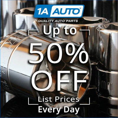 1A Auto Up to 50 Percent Off Savings - No Coupon Required