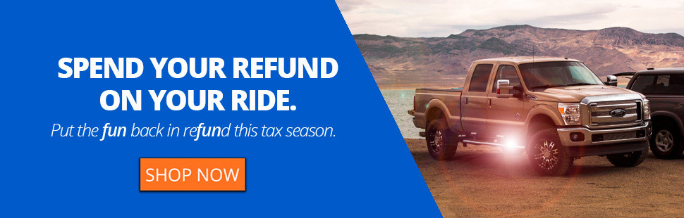 Spend Your Refund on Your Ride