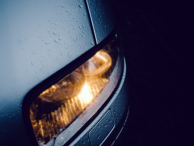 dim faded headlights