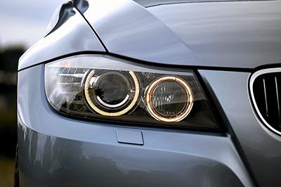 headlights on bmw