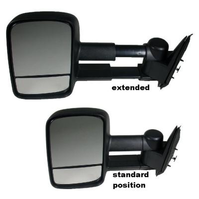 Telescoping / Telescopic / Extendable Towing Mirrors